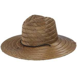 Bell Sun Hat Tan, Brixton Straw Hat, caramel color with chin strap