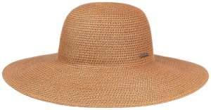 Capeline Fiorella Floppy Apricot by Stetson, Wide Brim Summer Hat for Women
