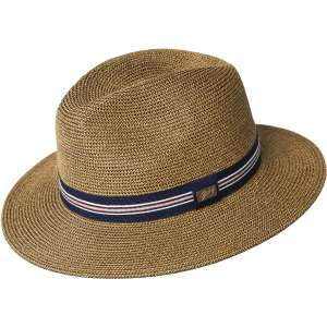 Hester Copper Bailey of Hollywood, Dark brown summer Fedora