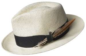Kapelusz fedora Outen Natural, Bailey