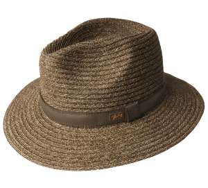 Foley Teak Bailey of Hollywood, Toyo Fedora by Bailey