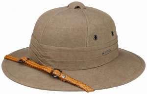 Pith Helmet Cotton by Stetson  2019