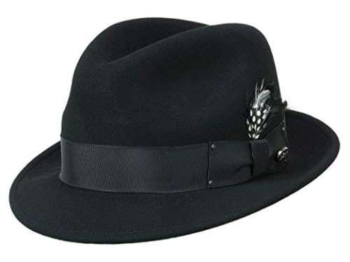 Black Tino by Bailey - Le Szapo Hat Store Kraków 0d6e6d974fe