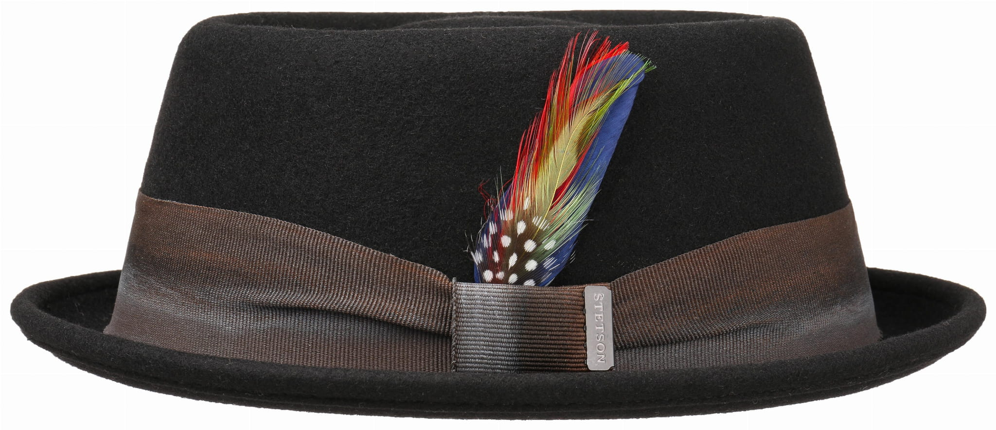 26706f2bf Pork Pie Stetson Black
